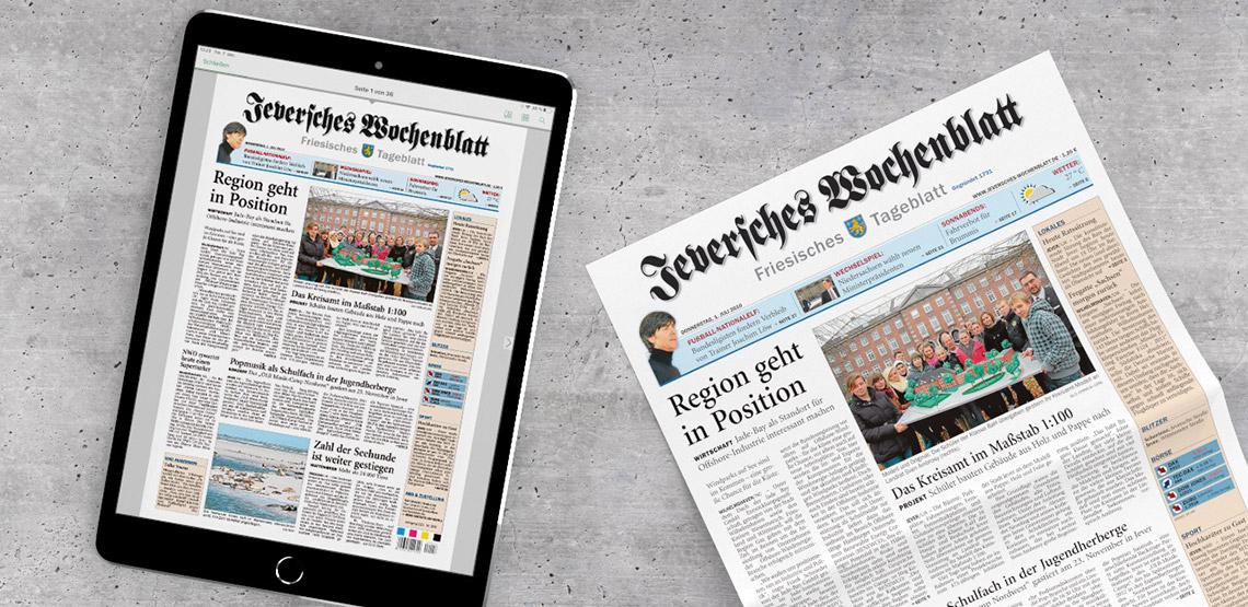 Abonnement Jeversches Wochenblatt
